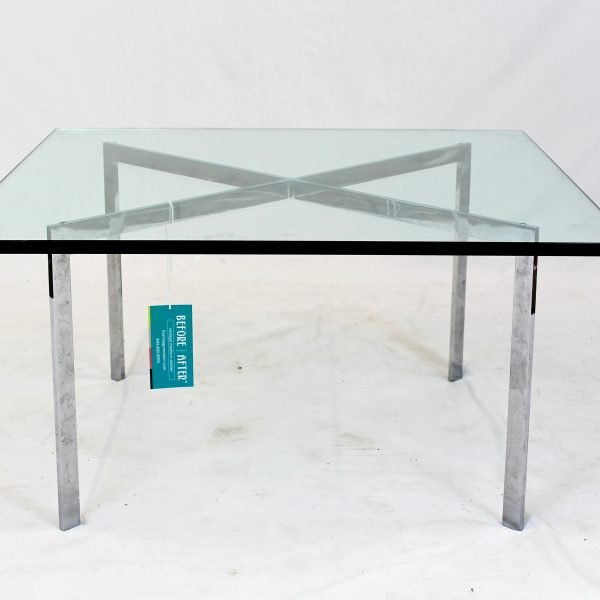 Barcelona Table by Ludwig Mies van der Rohe