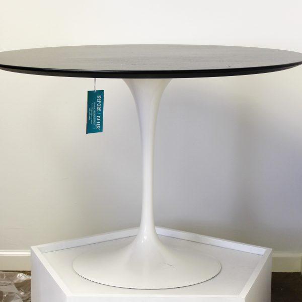 Eero Saarinen Table - Ebony Stained Veneer and Tulip Base