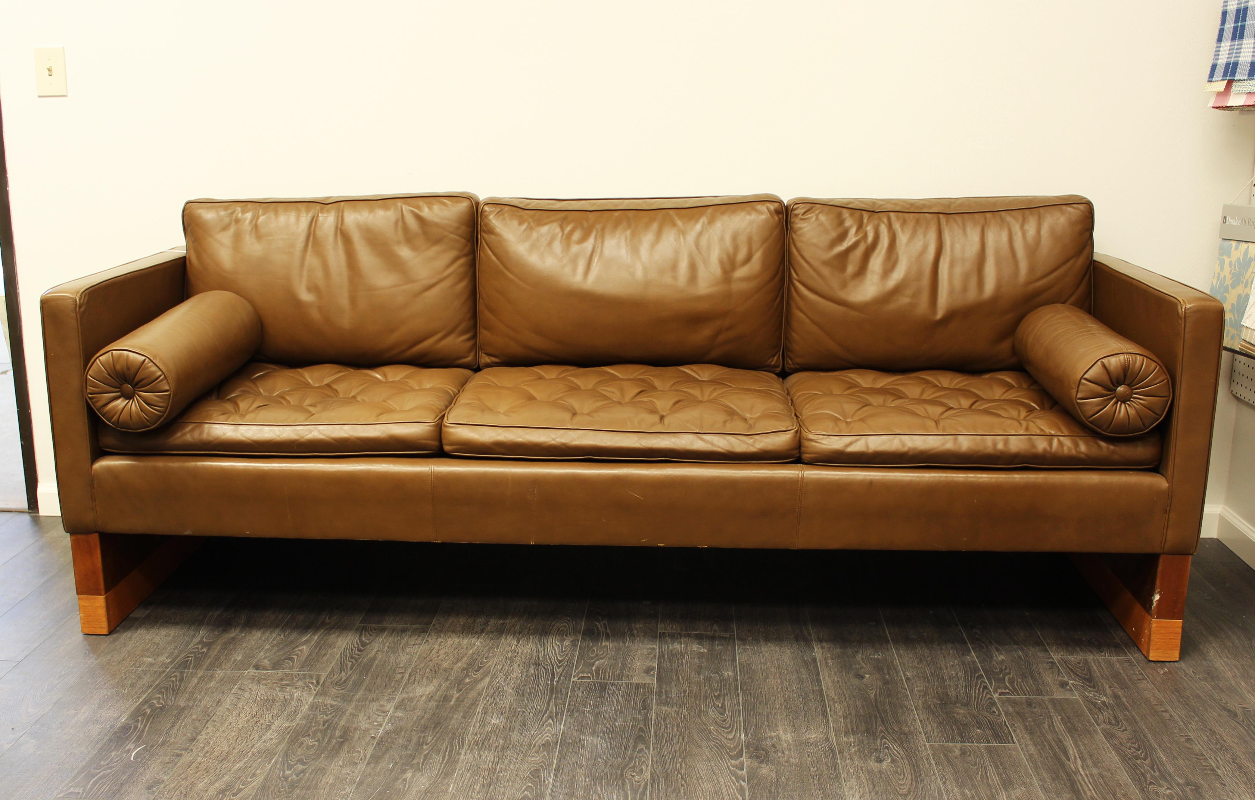 Custom Charles Pfister-Style Knoll Sofa