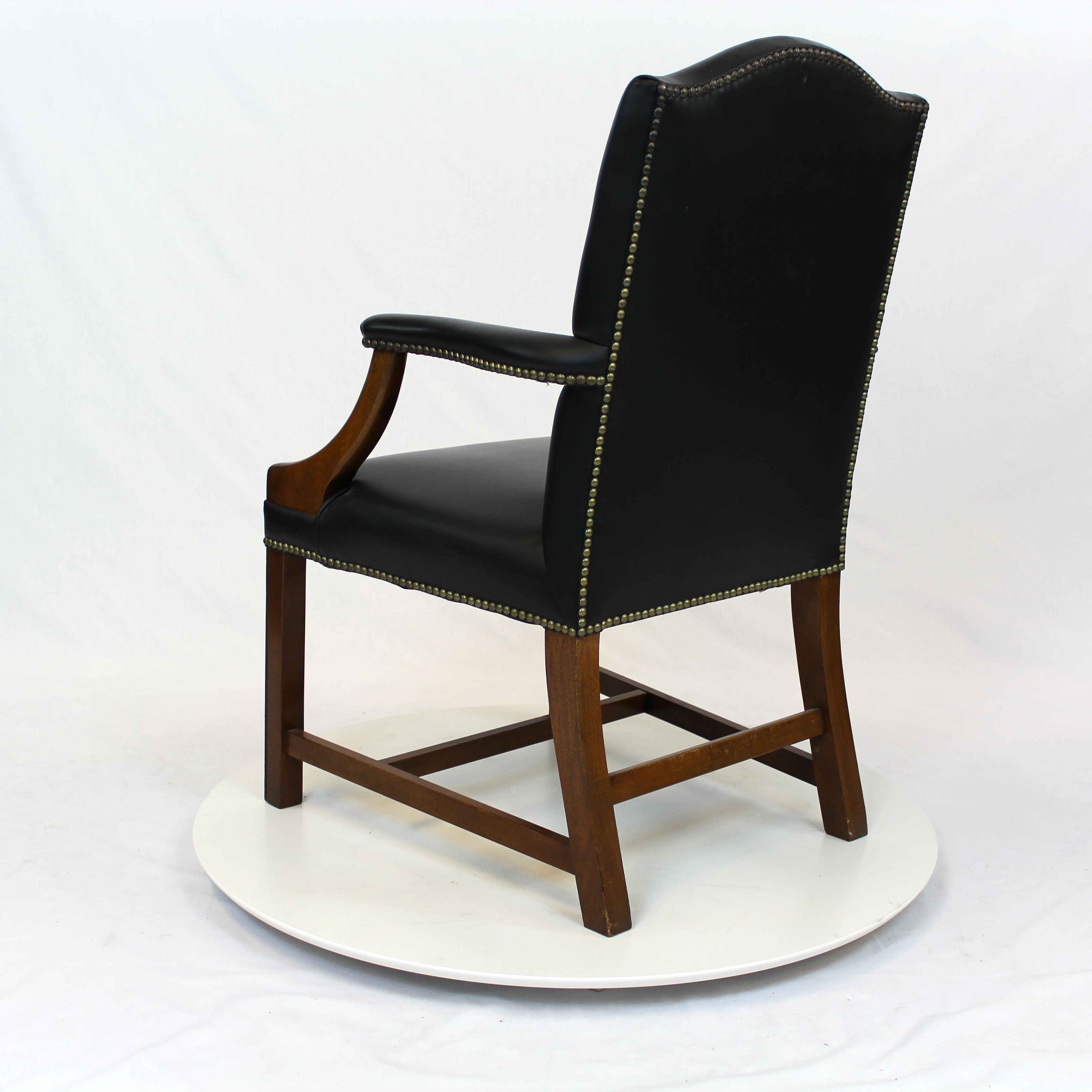 Dining chairs leather high back modern dining chairs set for Cheap high back dining chairs
